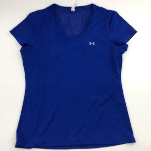 Under Armour SemFitted Heat Gear Tee Like New L